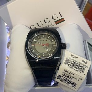 New With Box&Tags Gucci YA137111 Sync Men's Watch